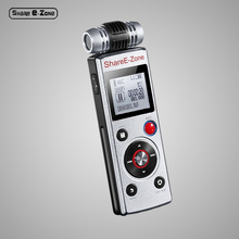 ShareE zone G77 Digital Voice Recorders with speakers digital voice recorders voice recorder external microphone recorder(China)