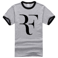 Roger Federer shirt Brand 100% Cotton Short sleeve Clothing Tops Tees Streetwear 2017 New Style Summer Fashion mma T shirt Men