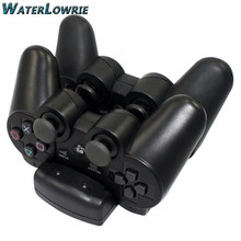 Waterlowrie 2controller+1charger SIXAXIS Controle For SONY PS3 Controller Bluetooth Gamepad for Dualshock 3 Playstation 3
