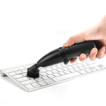 D3 New USB Vacuum Keyboard Cleaner Dust Collector LED Light For Laptop PC Keyboard(China)