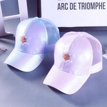 Wendywu spring summer fashion womens blank sport baseball caps ladies hats pink plain mesh dad hats solid color