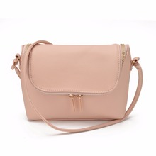 Famous Brand Design Small Fold Over Bag Mini Women Messenger bags Leather Crossbody Sling Shoulder bags Handbags Purses Zipper