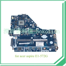 V5WE2 LA-9531P REV 1A NBMFP1100B NB.MFP11.00B For acer aspire E1-572G laptop motherboard core i5-4200U+Radeon R7 M265 Graphics(China)