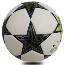 Size 5 Soccer Ball Champions League Football Ball Seamless PU Ball For Match Competition High Quality
