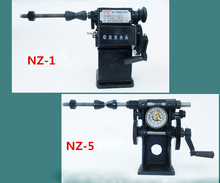 Hand coil winding machine NZ-5 NZ-1 Manual double speed counting winder Iron gear