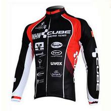 Polyester Cycling Jersey mans Racing Bike cube Cycling Clothing MTB Cycle Clothes Wear Ropa Ciclismo Sportswear