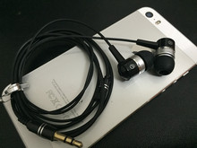 IN-Ear earphone 3.5mm bass universal mobile phone headset MP3 earplug without micropone(China)