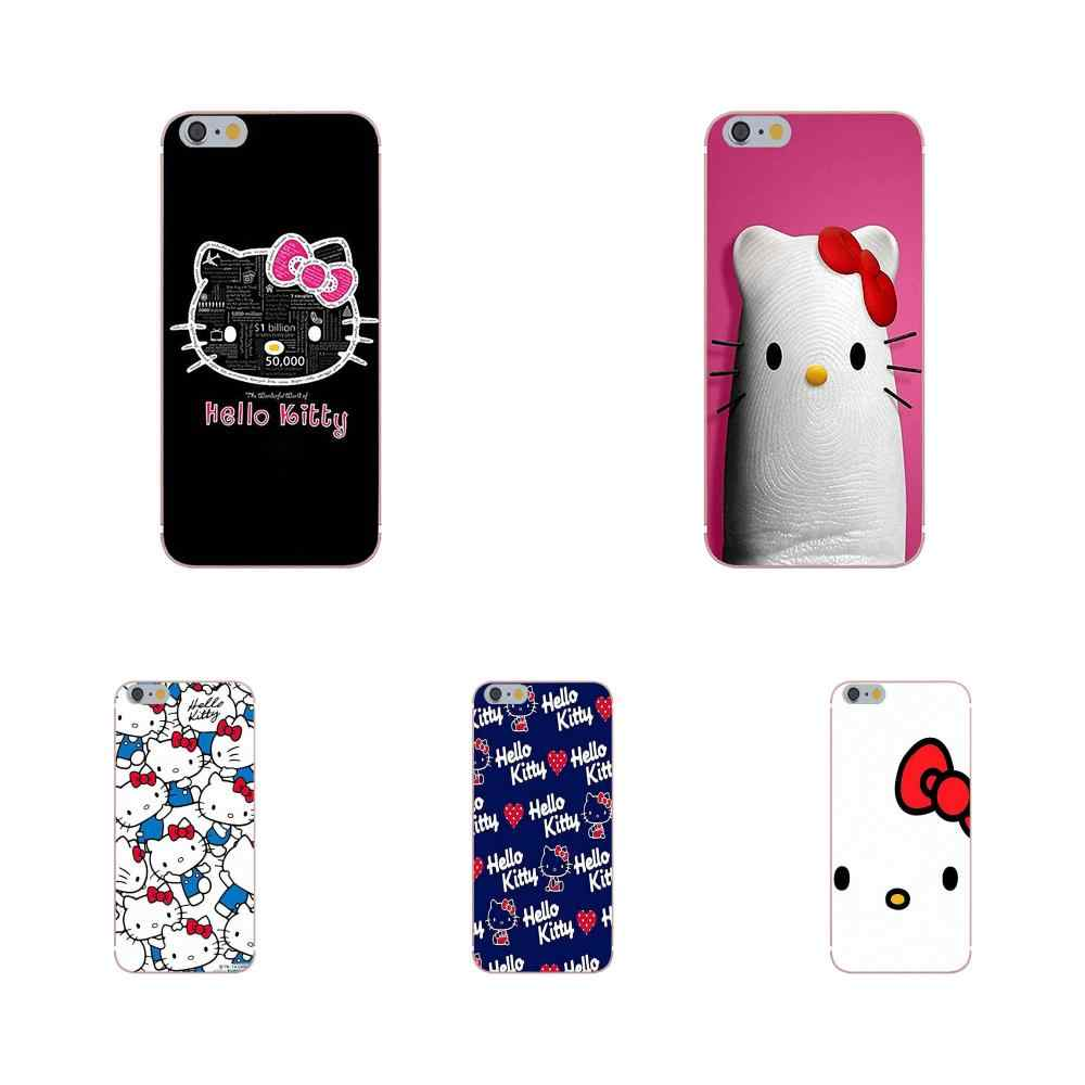 Oedmeb мягкий крутой лучший чехол Hello Kittys для samsung Galaxy Note 5 8 9 S3 S4 S5 S6 S7 S8 S9 S10 mini Edge Plus Lite