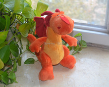 New NICI Dinos Series Fire Dragon Plush Toy , Baby Kids Brithday Gift Free Shipping