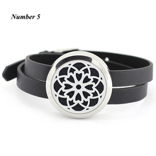 Buy 25MM 30MM Aroma Bracelet Floating Locket bracelet Stainless Steel silver Essential oil diffuser Bracelet (free 5pcs pads) for $5.98 in AliExpress store