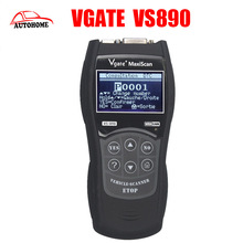 Vgate VS890 Universal Diagnostic Tool Multi-language Auto Scantool MaxiScan VS 890 OBD2 Scanner by free china post ship