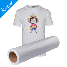 Q5-1 Kenteer light color printable heat transfer vinyl for T-shirt 0.5*25m one roll