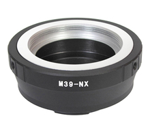 M39-NX Adapter Ring for Leica M39 Screw Mount Lens to Samsung NX1100 NX30 NX1 NX3000 NX5 NX210 NX200 NX300 NX1000