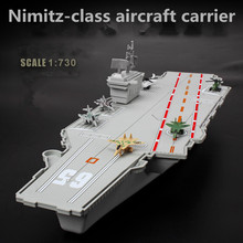 Children's static model toys,Nimitz-class aircraft carrier,plastic model,military model toys,educational toys,free shipping