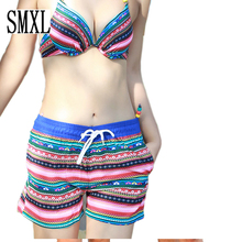 smxl Sunshine beach deck chair Boardshorts women swimsuit hot sexy Couple Women Board Shorts Slim Pleasantly cool brand