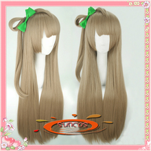 "[sunshine] Live love ! Minami Kotori paragraph cosplay anime wig hair  80cm 32""long high temperature wire Free shipping +Cap"