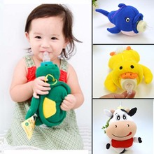 Baby Feeding Bottle Insulation Bag Animal Plush Toy Thermal Bag for Baby Bottles Bolsa Termica Thermos Baby Bottle Holder(China)