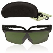 Durable 150x115mm PC Laser Protection Goggles Glasses 200nm-2000nm  IPL-2 OD+4D For Variety Of Lasers