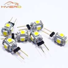 10pcs Mini G4 LED Lamp COB LED 3W AC/DC 12V Car Aoto Dashboard LED Light Dimmable 360 Beam Angle Chandelier Lights Replace Lamps(China)