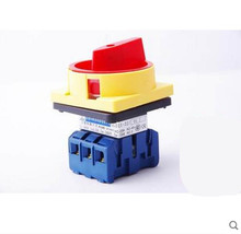 Universal change-over switch combination switch industrial control GLD11-40/04 load isolation switch