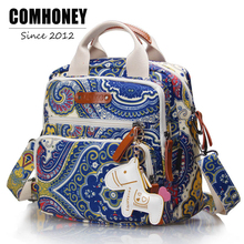 Backpack For Mom Nappy Changing Baby Stroller Bag Traveling 8 Colors Brand Tote Bebes Organizer Waterproof Handbags Diaper Bags(China)