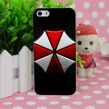 B4146 Umbrella Corporation Resident Evil Transparent Hard Thin Case Cover For Apple iPhone 4 4S 5 5S SE 5C 6 6S 6Plus 6s Plus