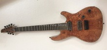 Shelly new store factory custom burl maple body neck through Mayones Regius 7 String electric guitar musical instruments shop(China)