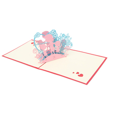 2017 Sorry Greeting 3D Card Pop Up Paper Cut Postcard Birthday Valentines Gift   MAR23_30