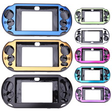 Aluminum Game Console Skin Case Gamer Handheld Player Protective Cover Shell for Sony PlayStation PS Vita 2000 PSV PCH-20(China)