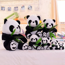 2018 New Arrival Lovely Cute Stuffed Kid Animal Soft Plush Panda Bear Doll Toy Children Baby Birthday Gifts Present Hot 1Pcs(China)