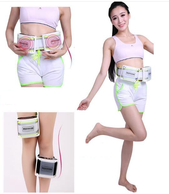 Fat reduce device vibration massage belt spiral weight loss massage machine slimming equipment thin waist belly power plate<br>