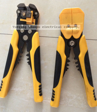 HS-D1 AWG24-10 0.2-6.0mm2 design Multi functional Cable wire Stripping Cutting and Crimping tools(China)