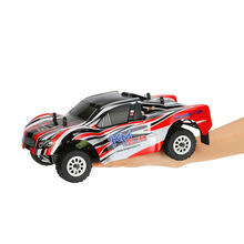 Original RC Car King Motor SC18 2.4GHz 4WD 1/18 Brushed Electric Off-Road Short Course Truck RC Racing Car Max Speed 72km/h(China)
