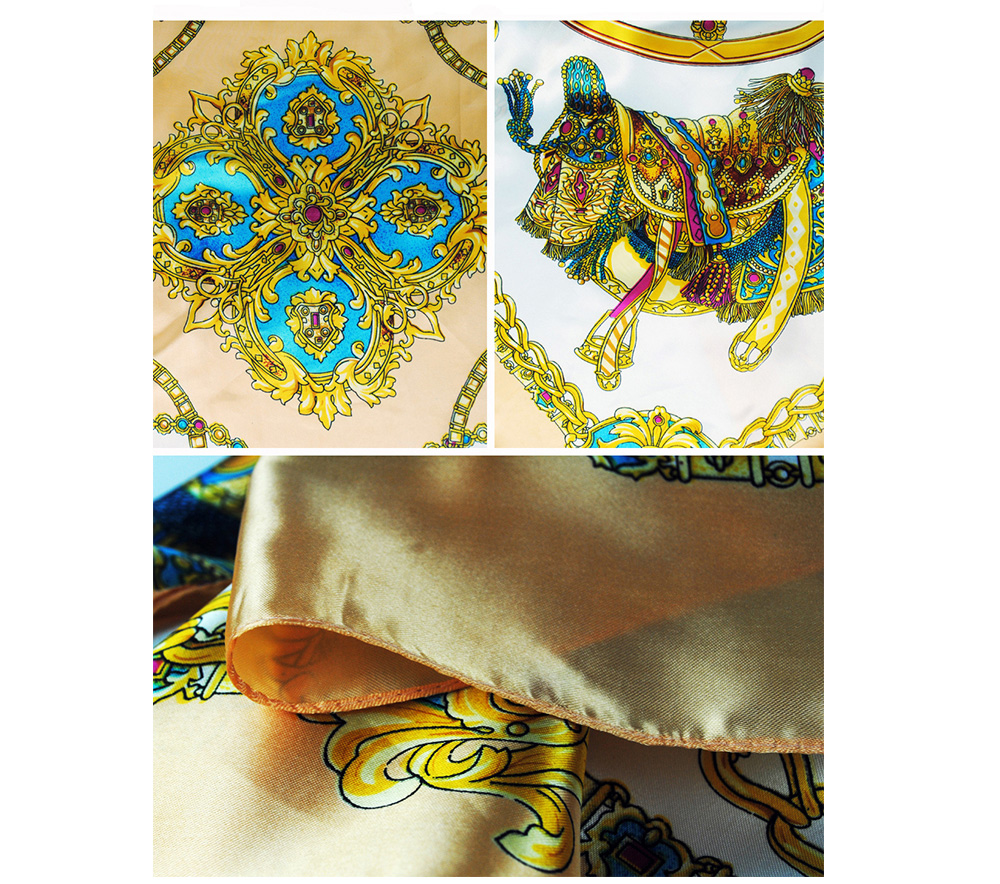 Square Silk Scarf (24)