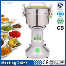 on sale 400g household stainless steel electric food grinder powder machine ultrafine mill small Chinese herbs powder grinder