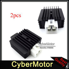 2x Voltage Regulator Rectifier For 50cc 70cc 90cc 110cc 125cc Engine ATV 4 Wheeler Buggy Pit Dirt Bike Motorcycle Moped Scooter