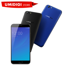 2017 New UMIDIGI C Note 2 Android Cell Phone MTK6750T 4GB RAM 64GB ROM Black Blue Touch Phone Mobile Phone(China)
