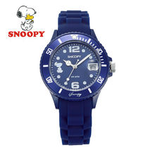 2017 Snoopy Kids Watch Children Watch Cool Quartz Wristwatches Boys Sports Leather clock