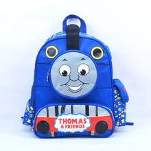 Hot Sale Cute Children Cartoon Bag School Bag Pattern Thomas Children Backpacks Lovely Bady School Bag Free Shipping(China)