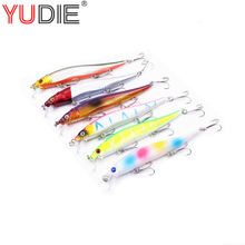 1pcs Minnow Fishing Lures 12cm 13g 8# Hooks Fish Minnow Lure Tackle Hard Bait Pesca Wobblers Spinner Swim Baits(China)