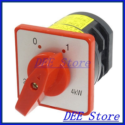 AC 380V 20A HZ5-20/4 L03 Rotary Cam Universal Changeover Switch<br><br>Aliexpress