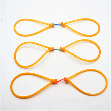 3pcs/lot sling rubber band used for catching fishing high quality slingshot rubber band slingshot latex rubber HW-002