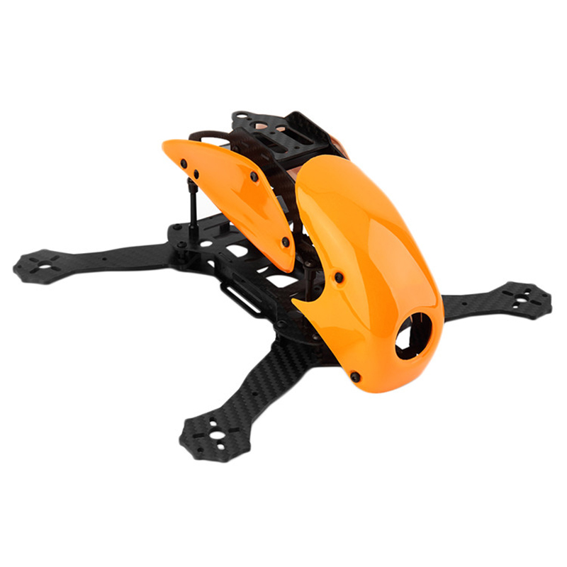 Robocat 270 rc 4-Axis Full Carbon Fiber Racing mini quad Quadcopter Frame with Hood Cover for FPV drone remote control aircraft<br>