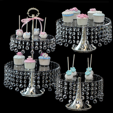 Crystal Transparent Cake Disc Pastry Sugar Afternoon Tea A Snack Gram Force Dessert(China)