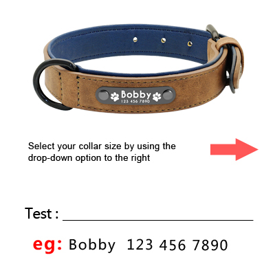 Dog Collar with Name Product Image 02