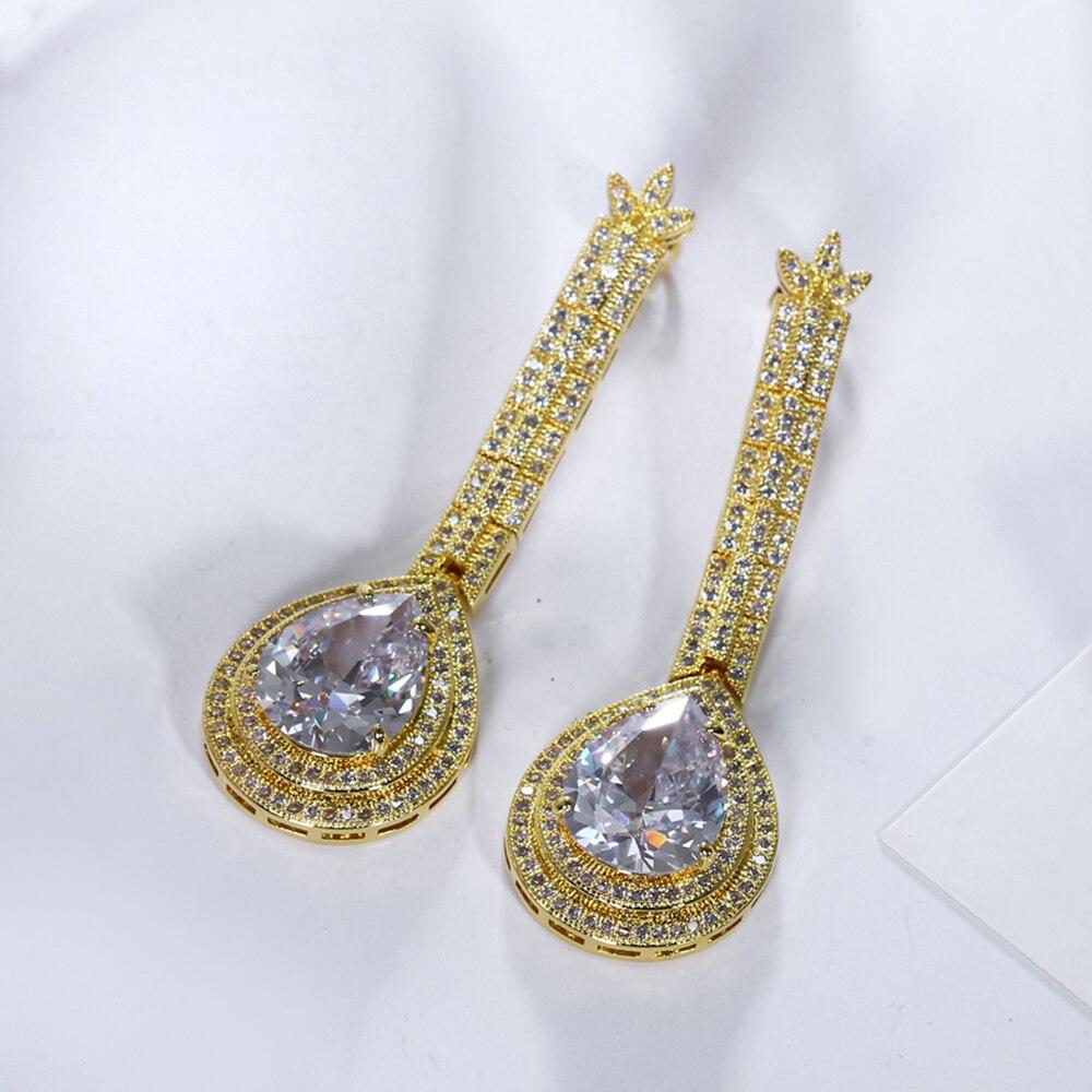 big water drop stone earrings (8)