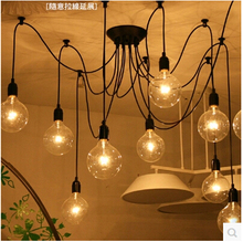 Pearl Continental minimalist chandelier lamp living room lamp chandelier Restaurant Bar Line
