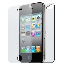 Lot/10 pcs Ultra smooth Front&Back matte screen protector film cover for Apple iPhone 4 16GB / 32GB 4S 16GB / 32GB / 64GB