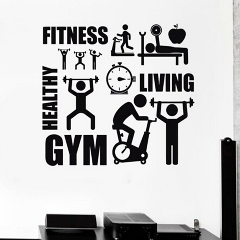 Exercise Stickers Gym