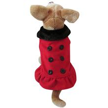 New Cute Woolen fleece four legs Pet Dogs Coat Free Shipping By china post Dogs clothes